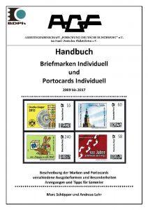 """Handbuch """"Briefmarken Individuell und PortoCards Individuell"""""""