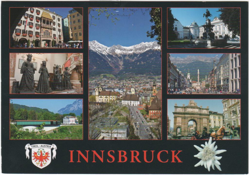 Meine erste empfangene Postkarte