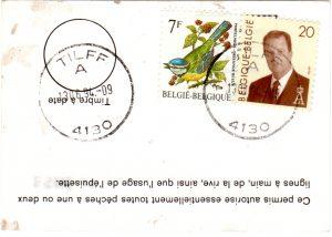 Permis de pêche (Angelerlaubnis) für das Jahr 1994